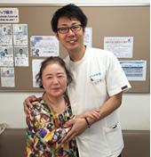 平塚市鎌倉市かもめ整骨院の患者様の写真