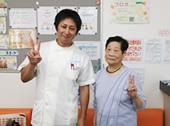 平塚市鎌倉市膝治療患者様の写真